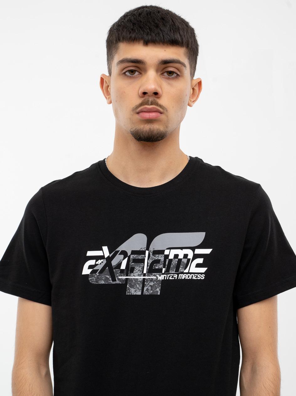 Koszulka Z Krótkim Rękawem 4F Extreme Czarne