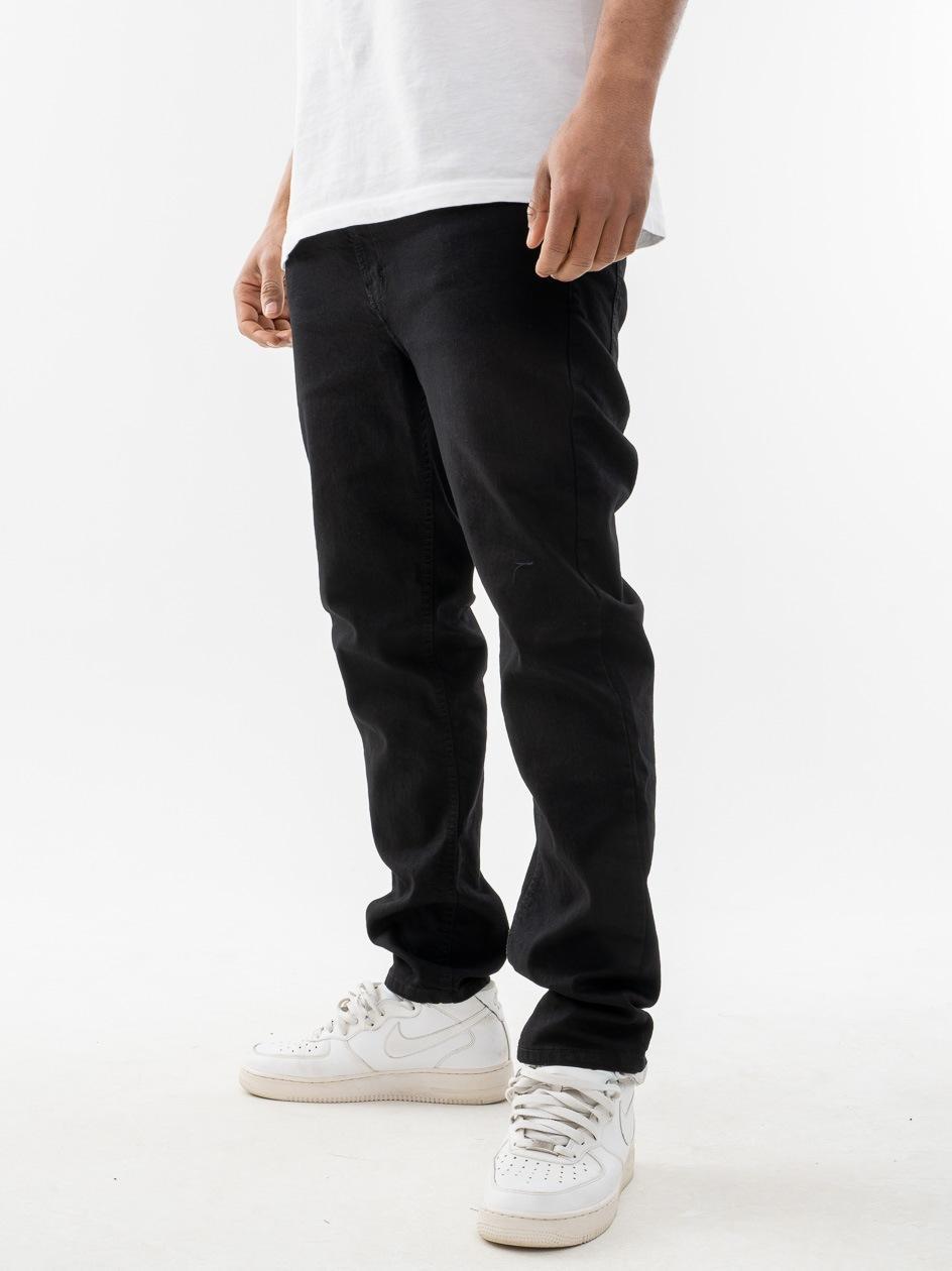 Spodnie Jeansowe Slim SSG Classic Czarne