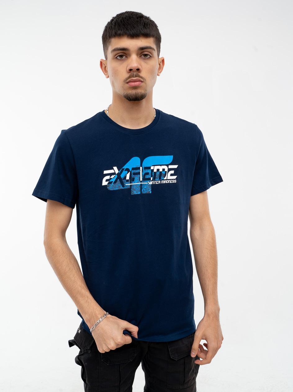 Koszulka Z Krótkim Rękawem 4F Extrame Granatowa