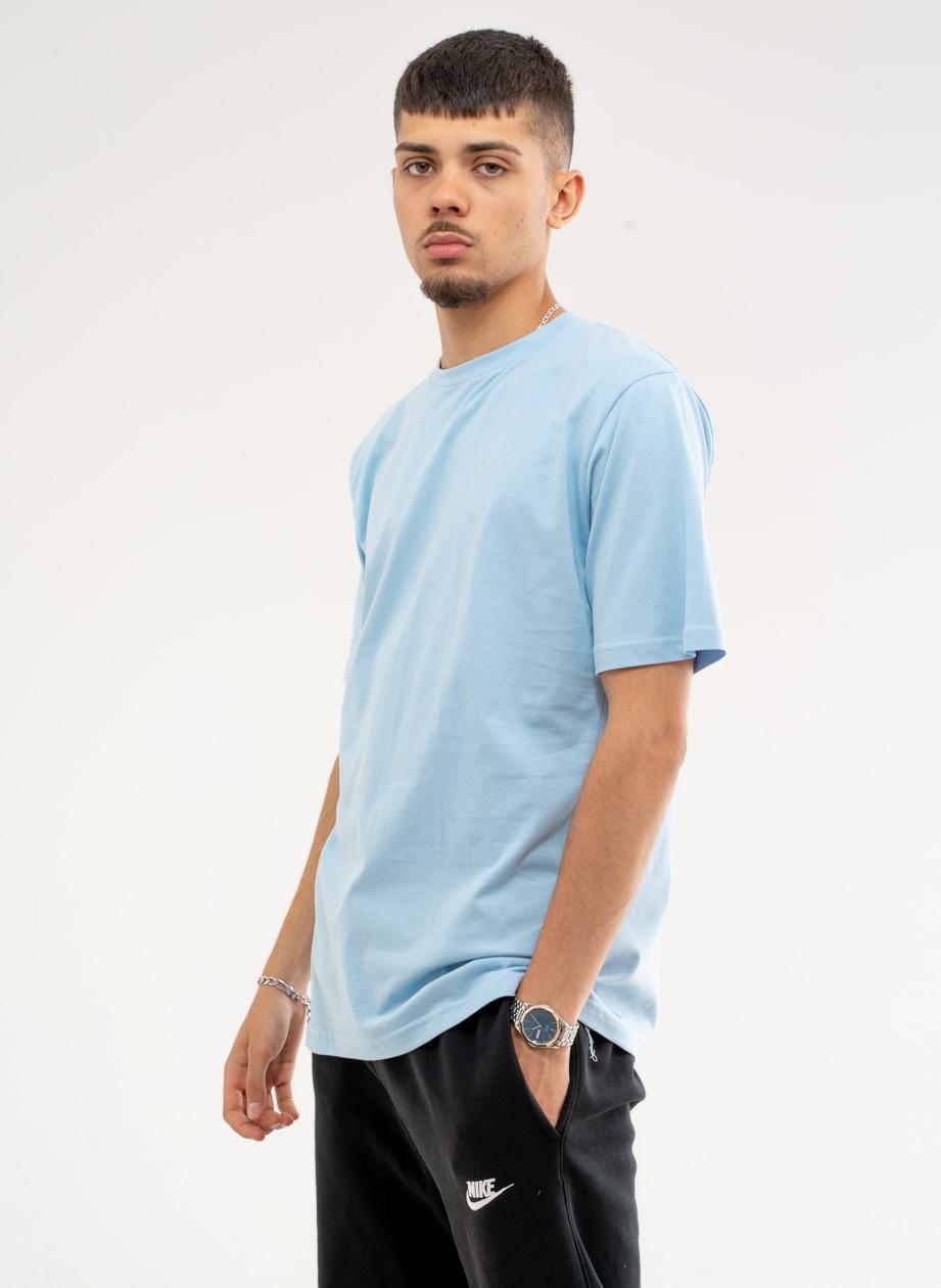 Koszulka Z Krótkim Rękawem Urban City No Logo Basic Sky Niebieska