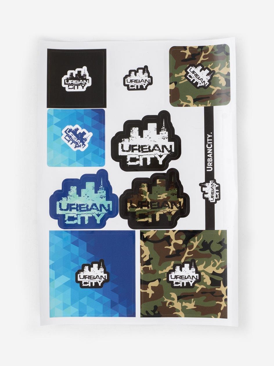 Naklejki UrbanCity Sticker Set 2