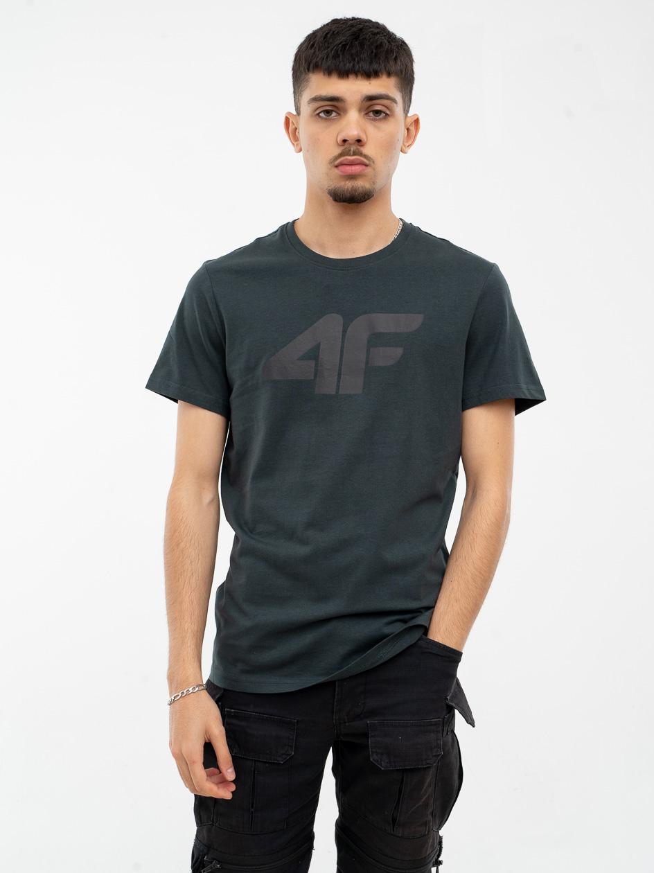 Koszulka Z Krótkim Rękawem 4F Broken Logo Khaki