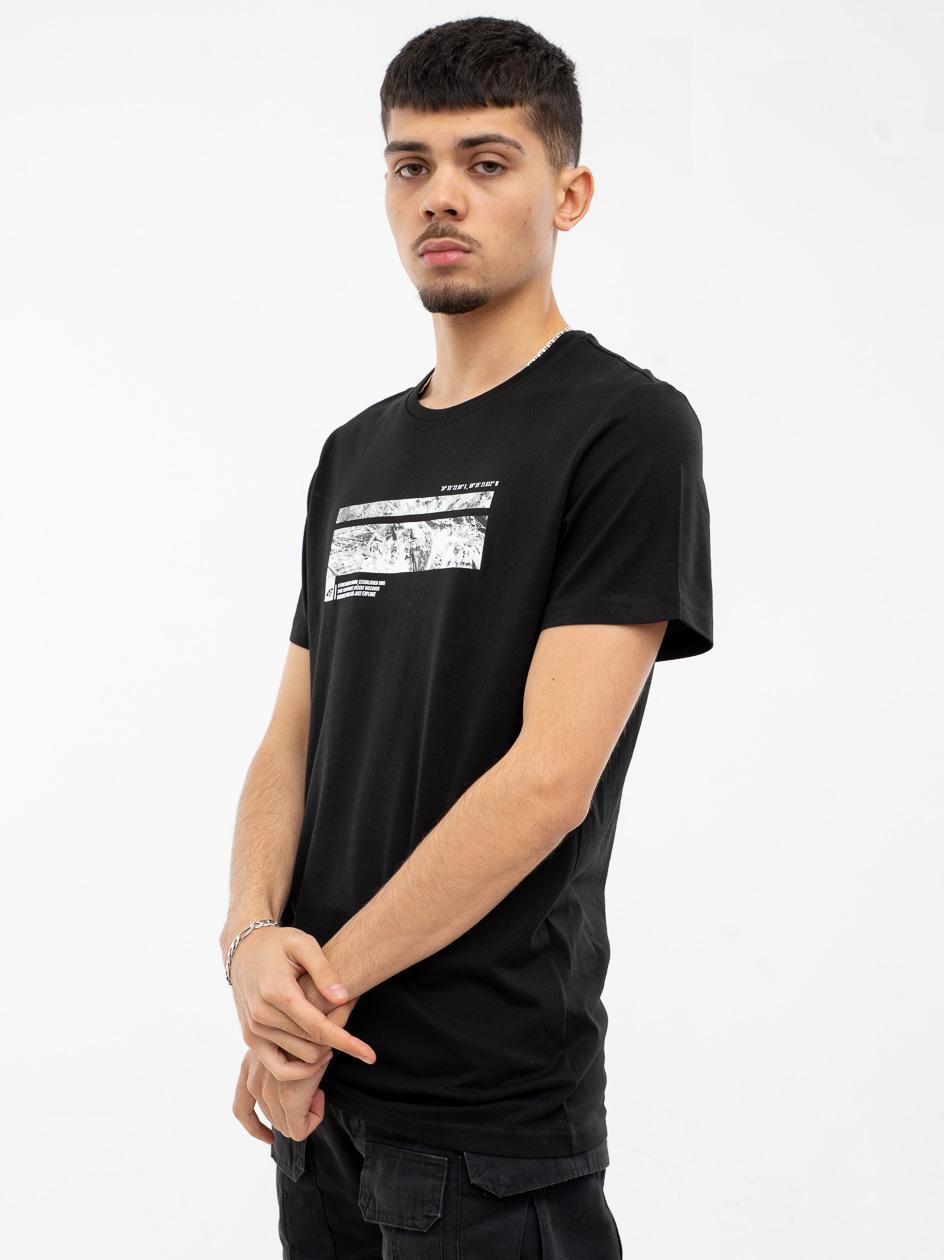 Koszulka Z Krótkim Rękawem 4F Discover Czarna