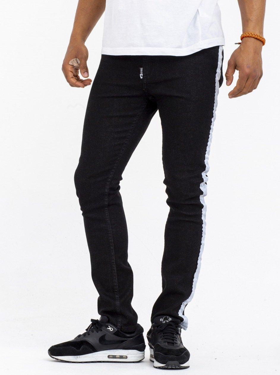 SJ Stripe Black