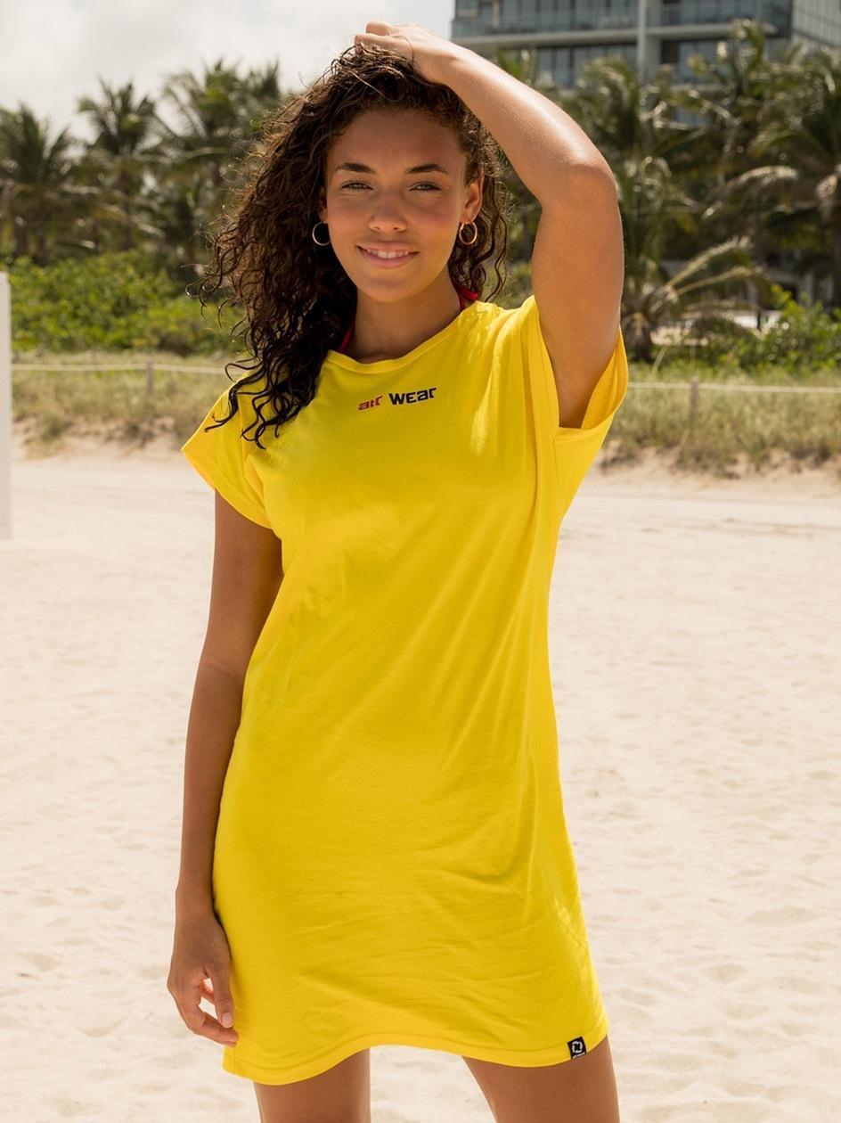 Sukienka ATR Wear Żółta