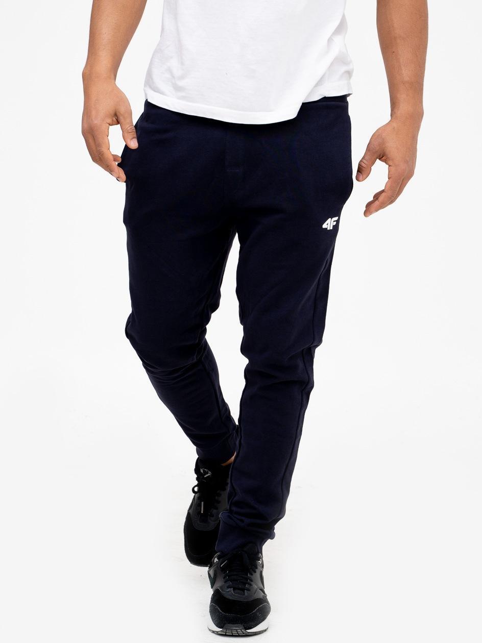 Spodnie Dresowe 4F Basic Granatowe
