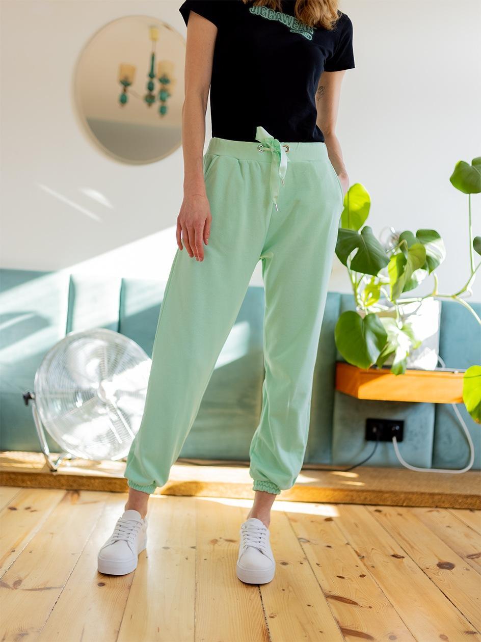 Spodnie Dresowe Point X Pure Miętowe