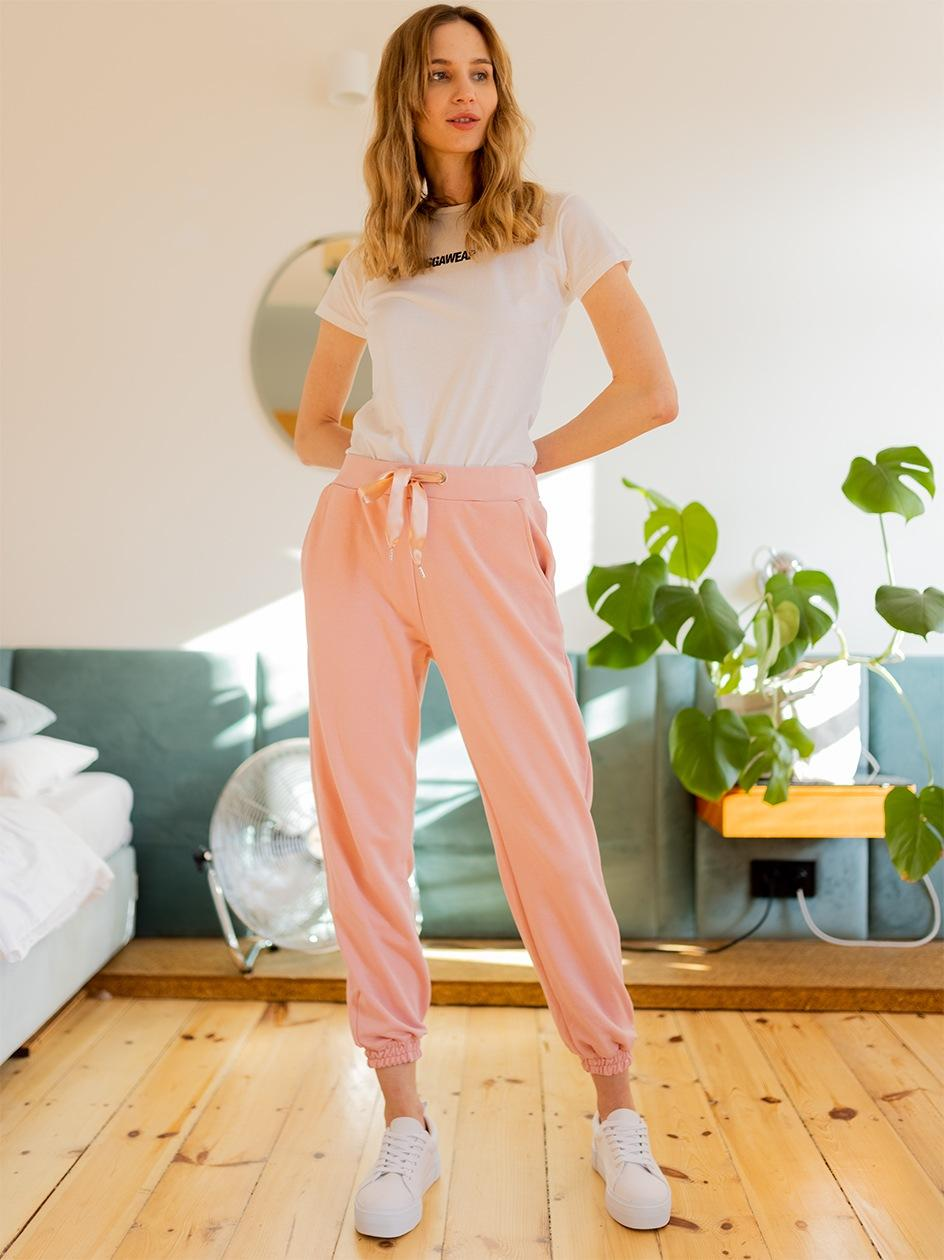 Spodnie Dresowe Point X Pure Jasne Różowe