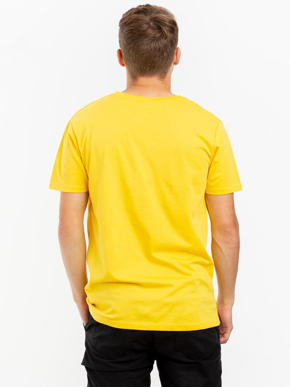 Koszulka Z Krótkim Rękawem Plus Eighteen Tony The Bad Guy Żółta