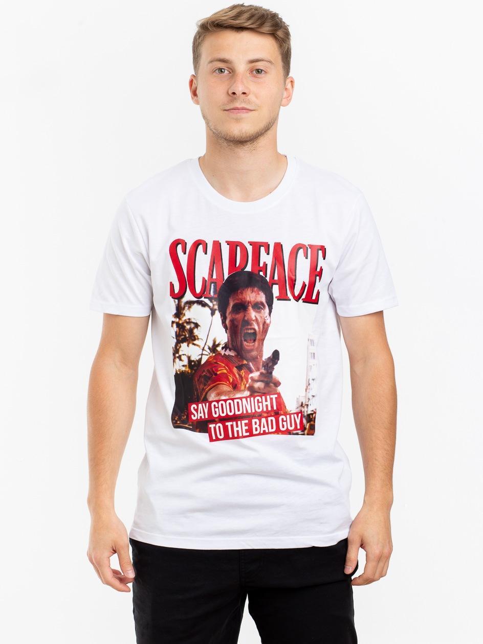 Koszulka Z Krótkim Rękawem Plus Eighteen Tony The Bad Guy Biała