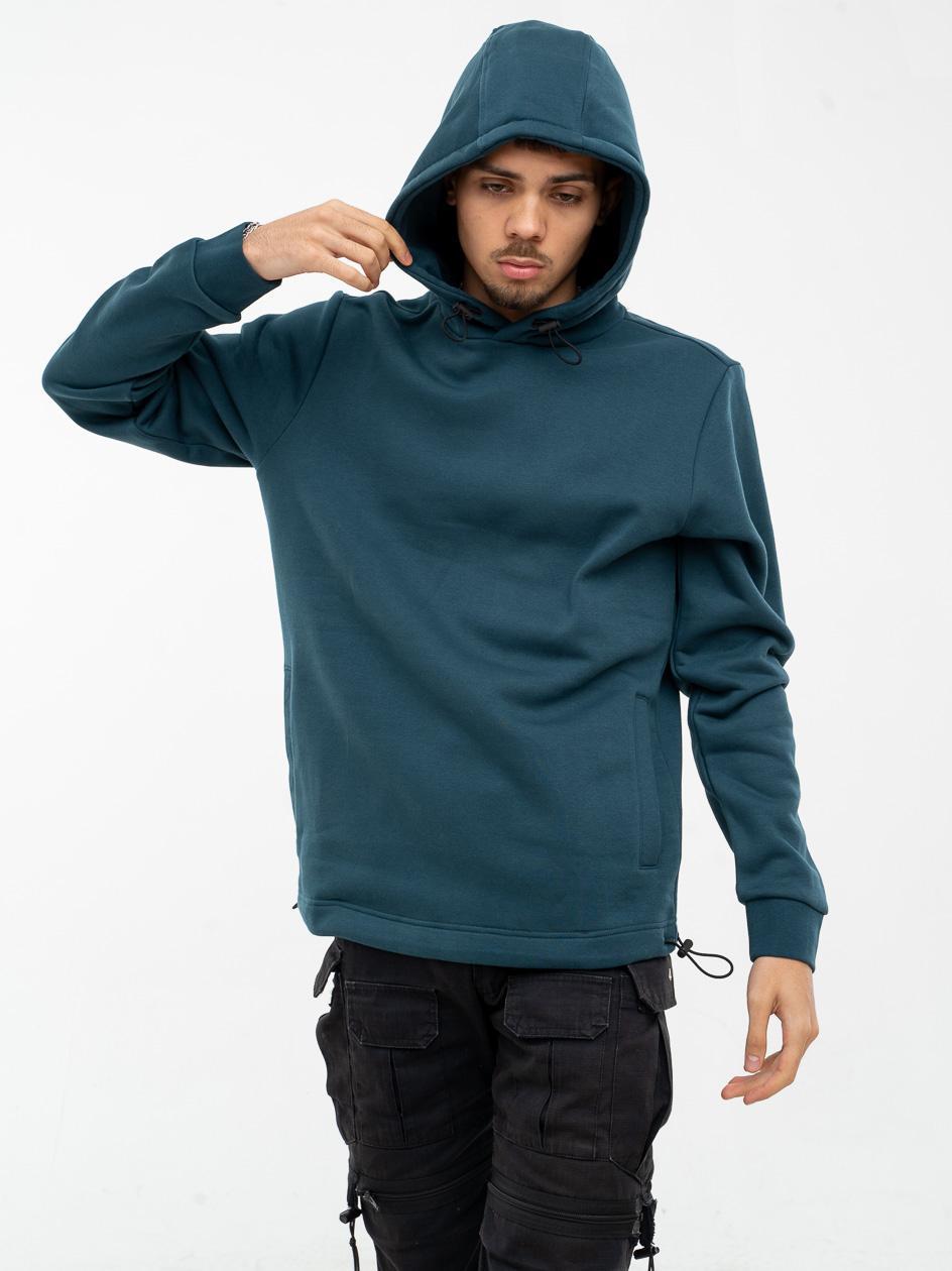 Bluza Z Kapturem 4F Basic Zielona