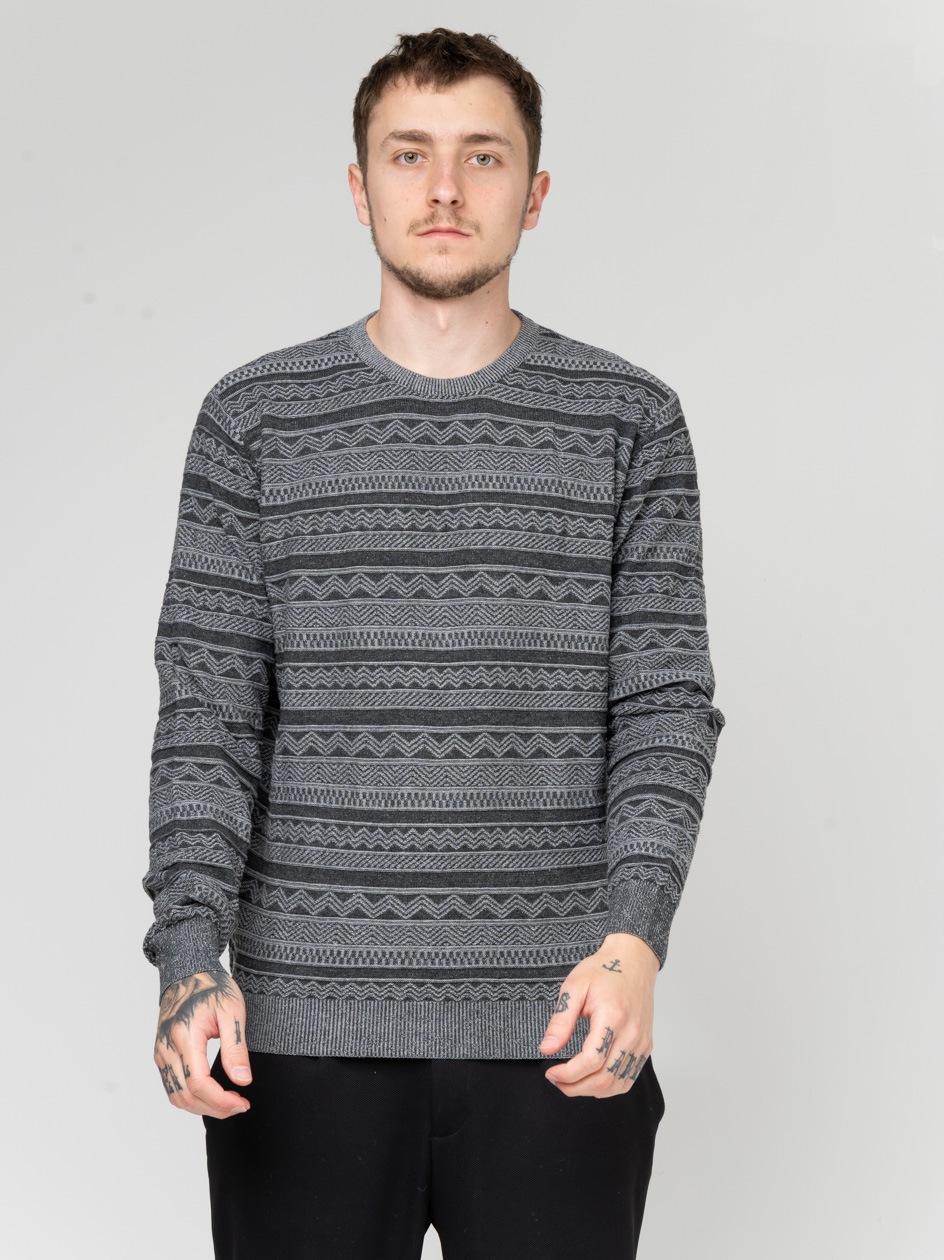 Sweter Iriedaily Wave Szary