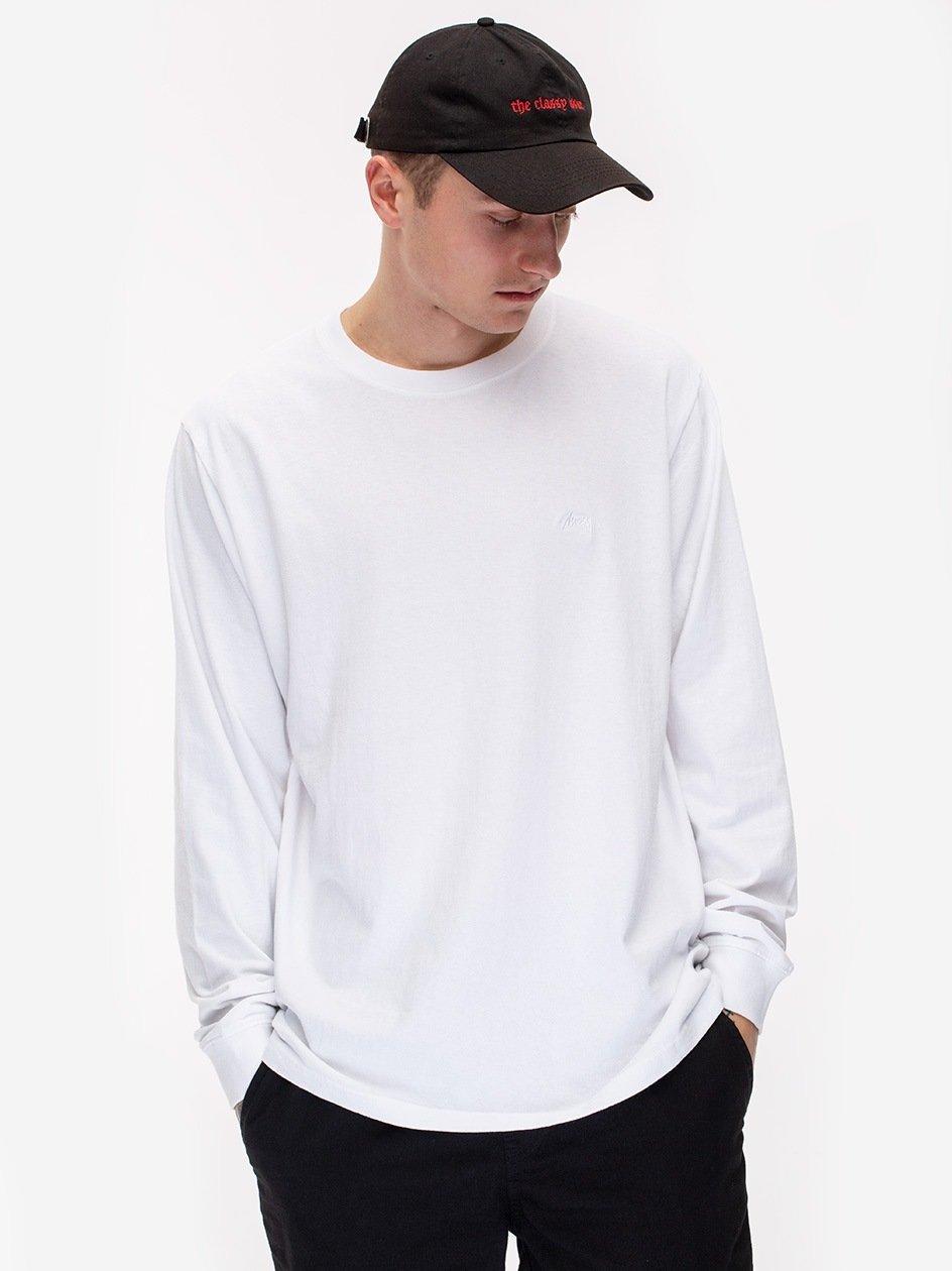 Stock LS Jersey White