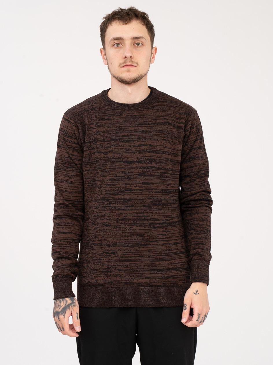 Sweter Iriedaily Pixel Brązowy