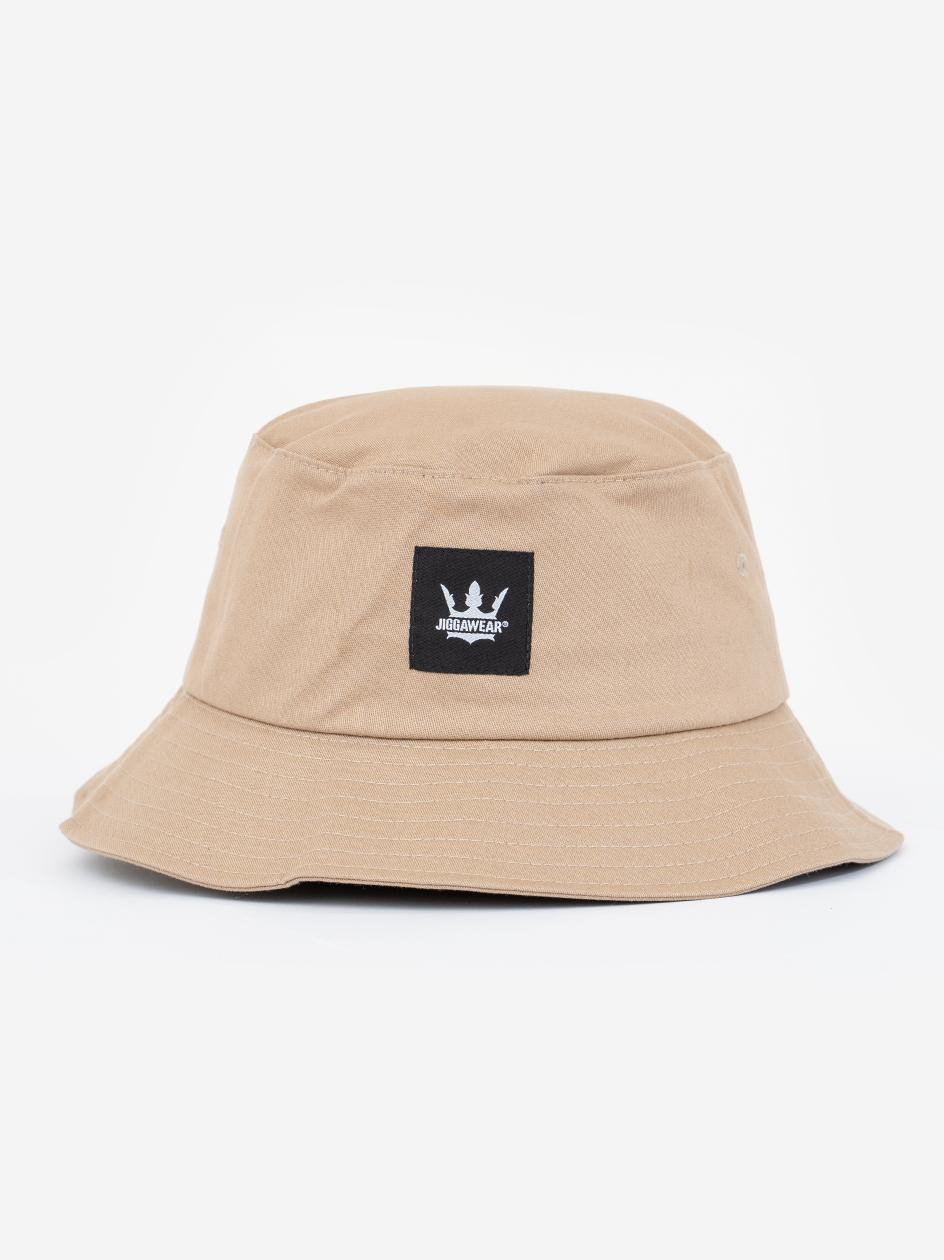Kapelusz Bucket Hat Jigga Stripe Beżowy