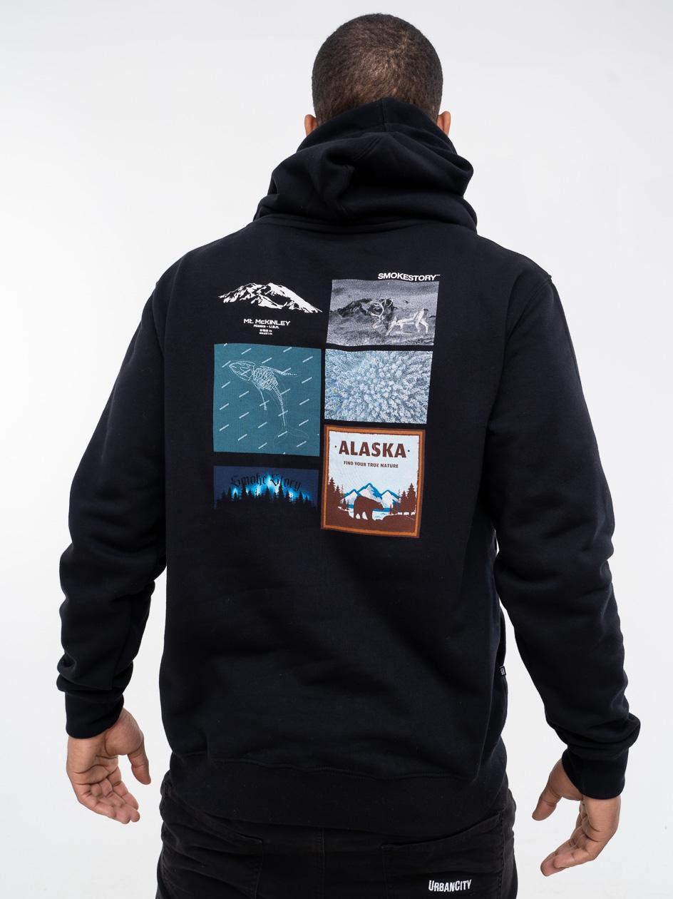 Bluza Z Kapturem SSG Alaska Czarna