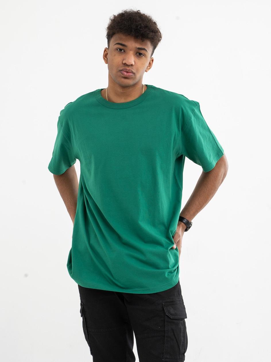 T-Shirt Urban Classics TB1564 Jungle Zielony