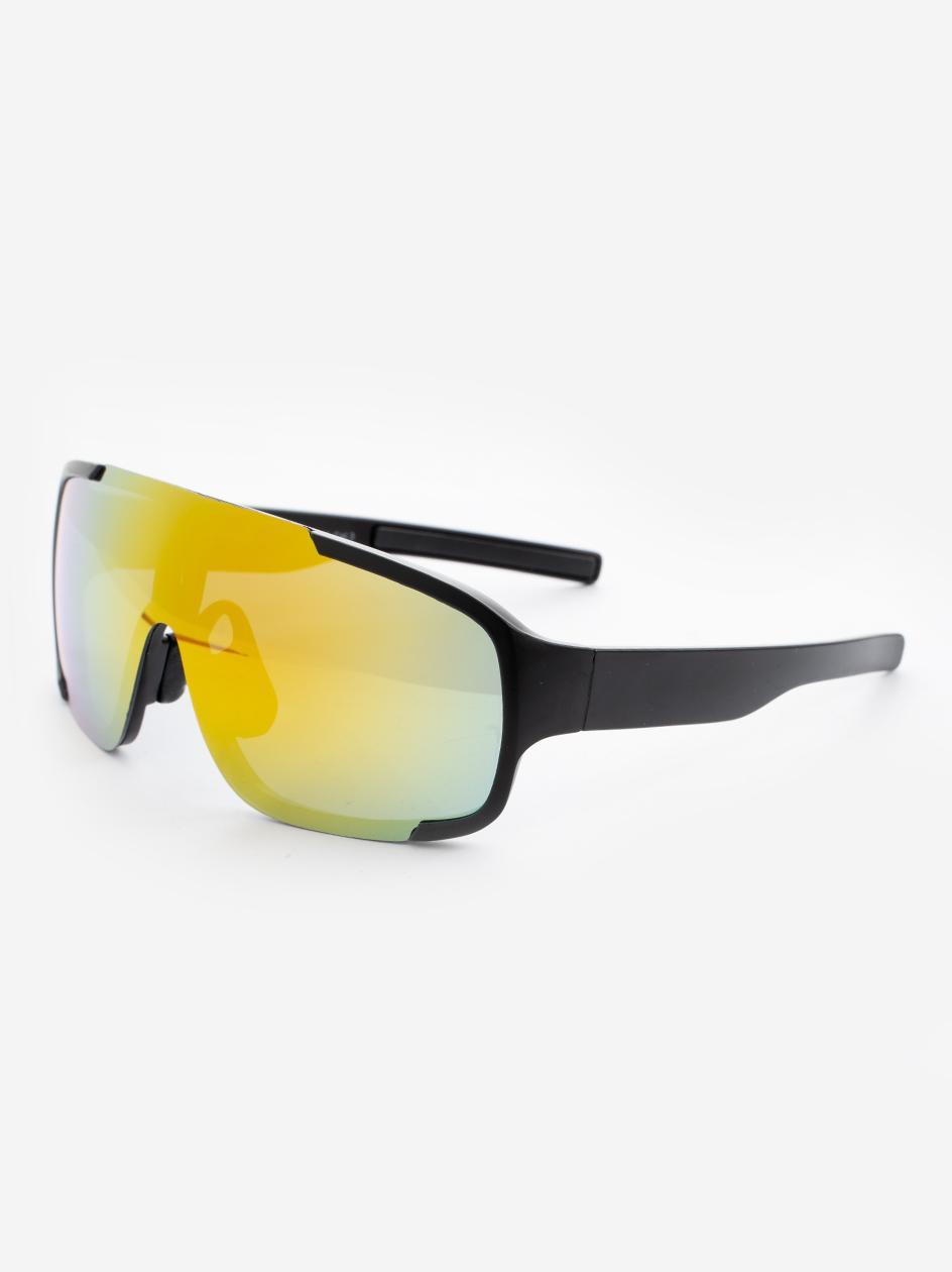 Okulary Przeciwsłoneczne Jeepers Peepers JP18462 Shield Style Czarne / Pomarańczowe