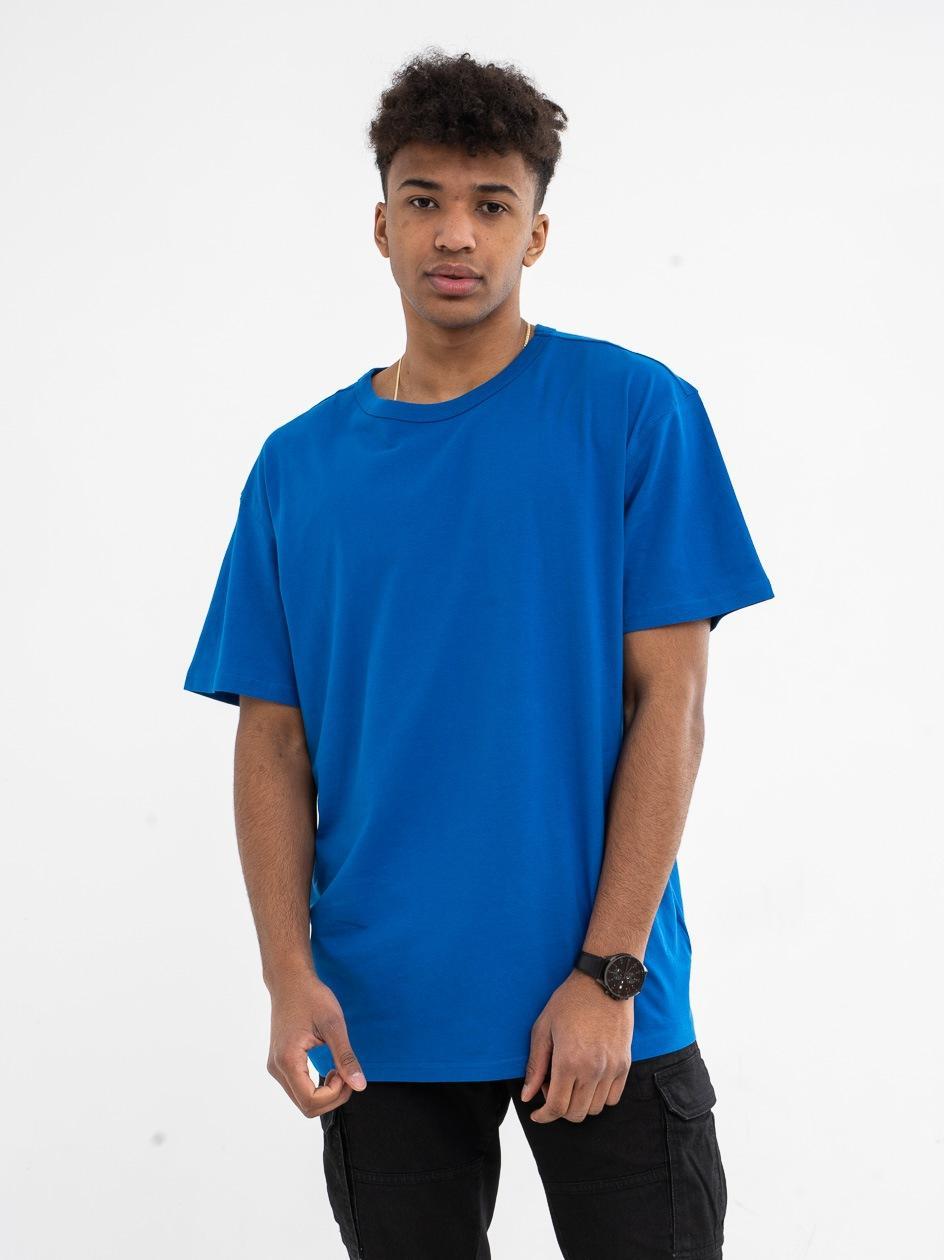 T-Shirt Oversize Urban Classics TB1564 Sporty Niebieski