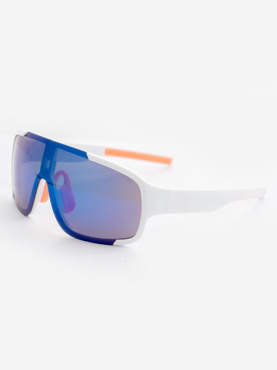 Okulary Przeciwsłoneczne Jeepers Peepers JP18463 Shield Style Białe