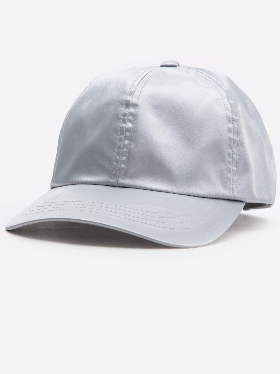 Low Profile Satin Cap Silver
