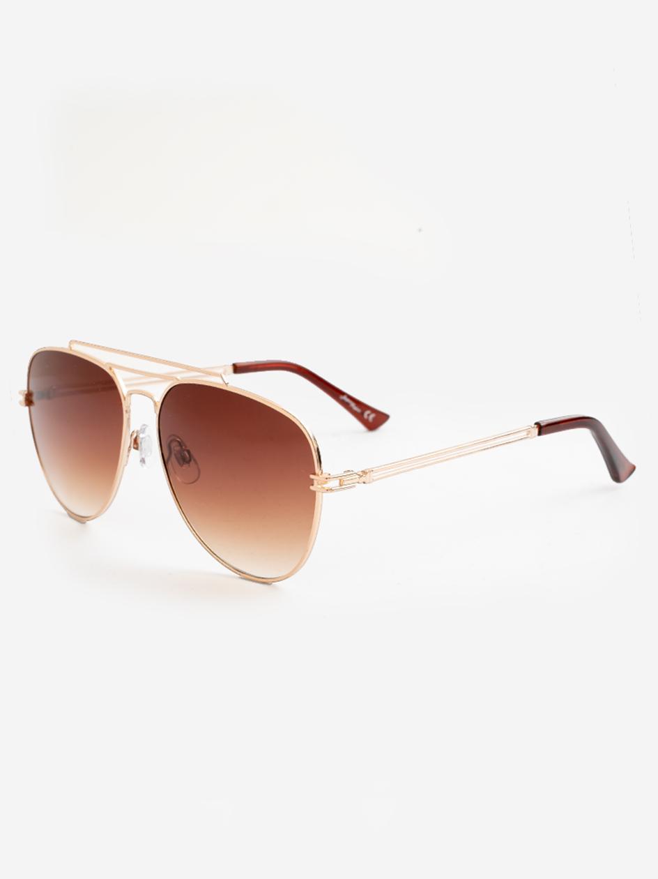 Okulary Przeciwsłoneczne Jeepers Peepers JP18589 Aviator Style Złote