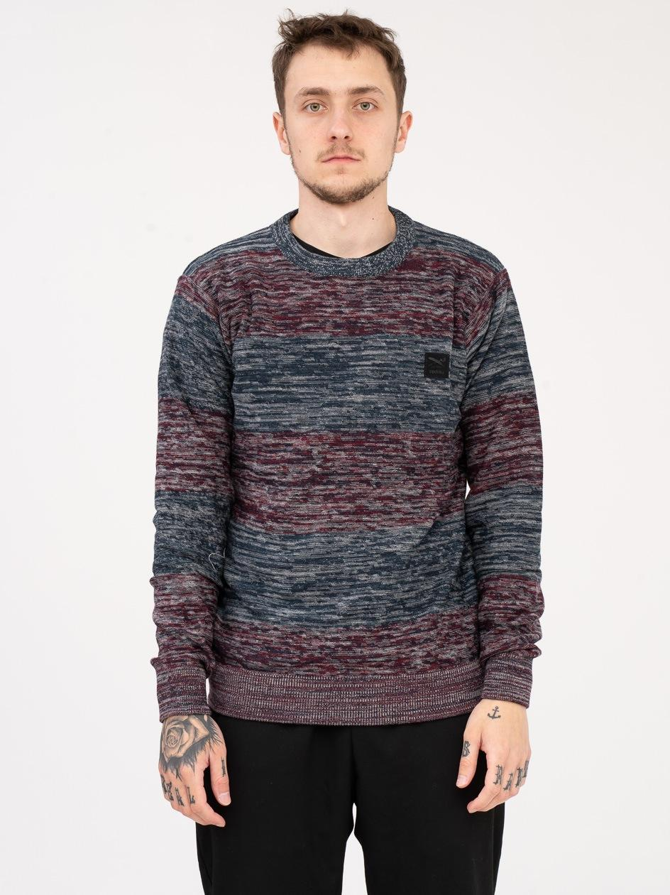 Sweter Iriedaily Lines Granatowy