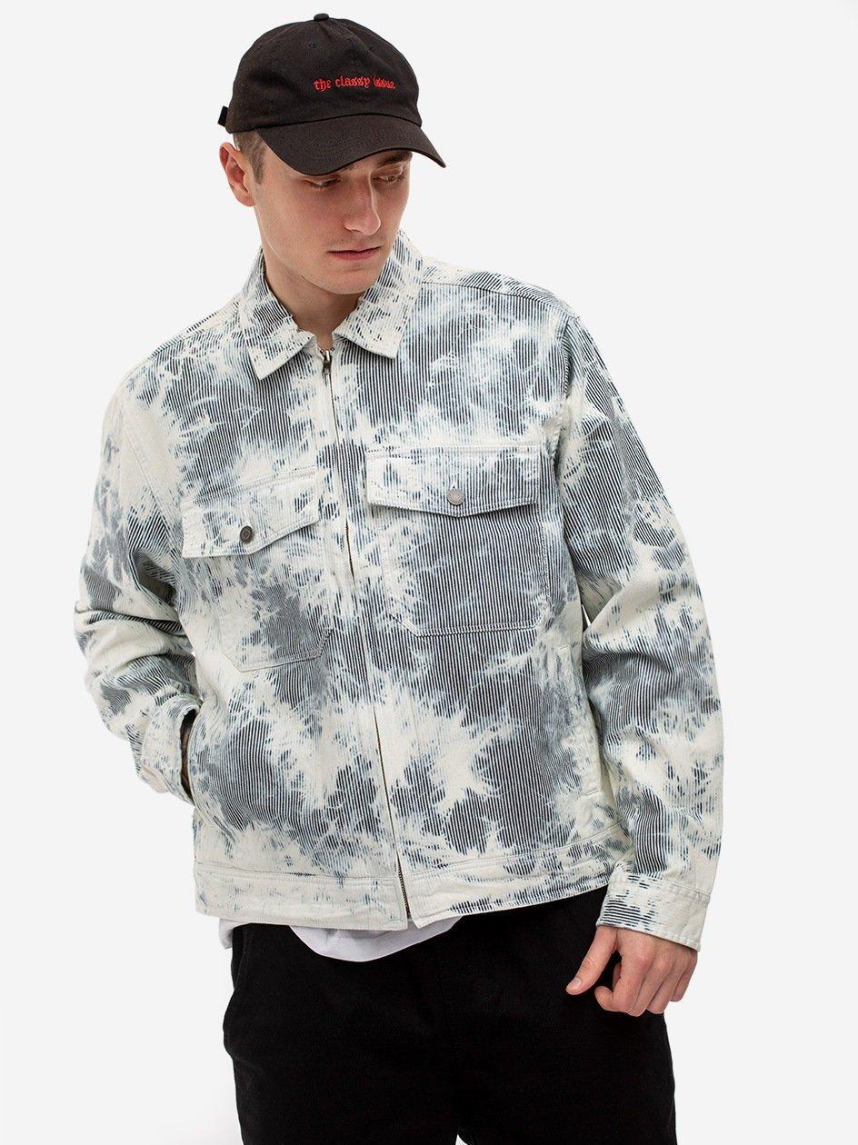 Hickory Stripe Garage Jacket Natural