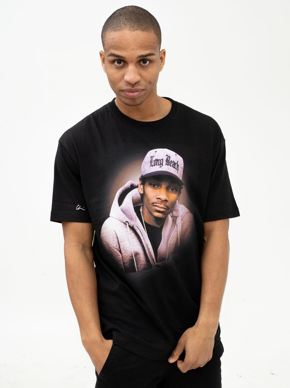 Koszulka Z Krótkim Rękawem Chi Modu LB Czarna / Brązowa