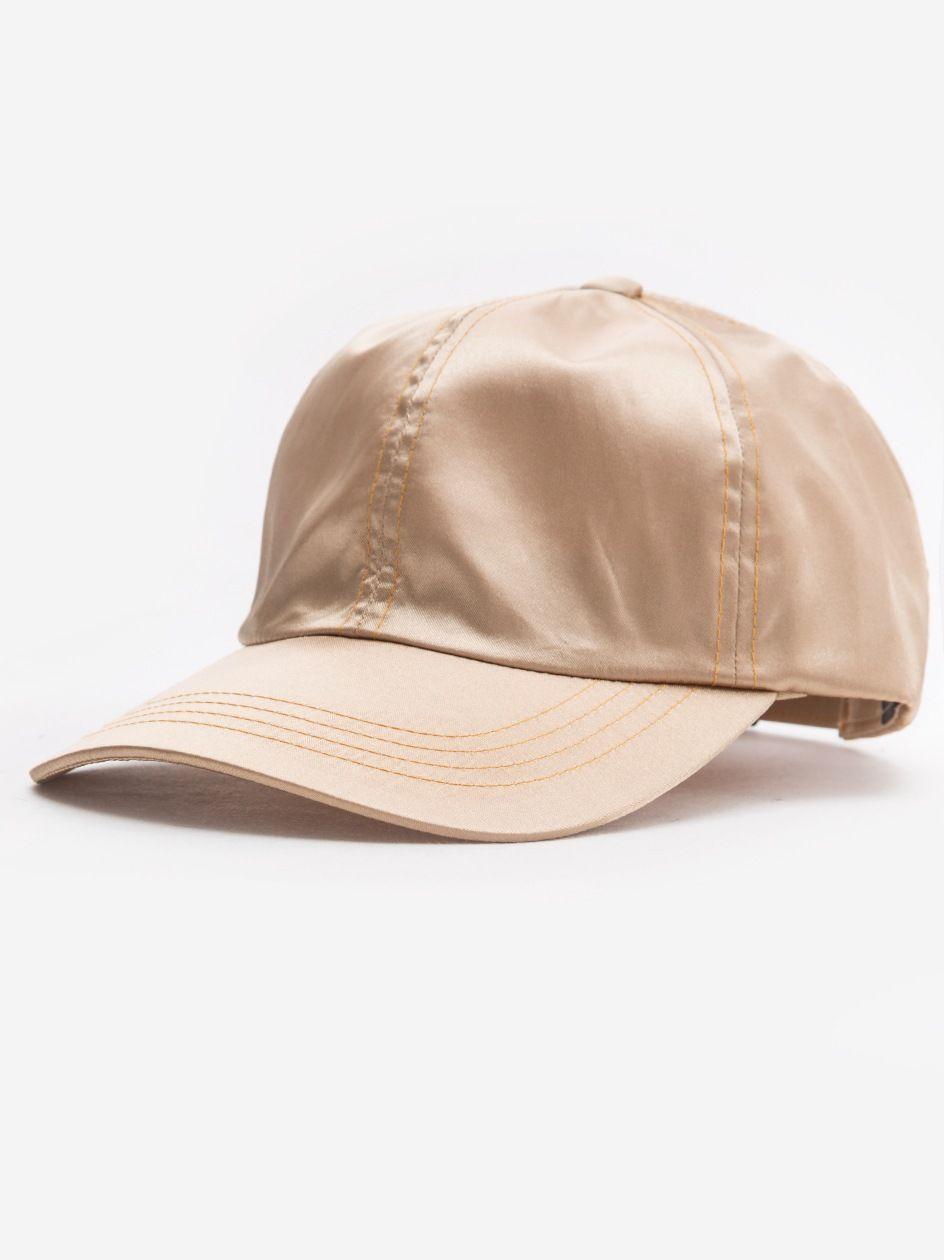 Low Profile Satin Cap Gold