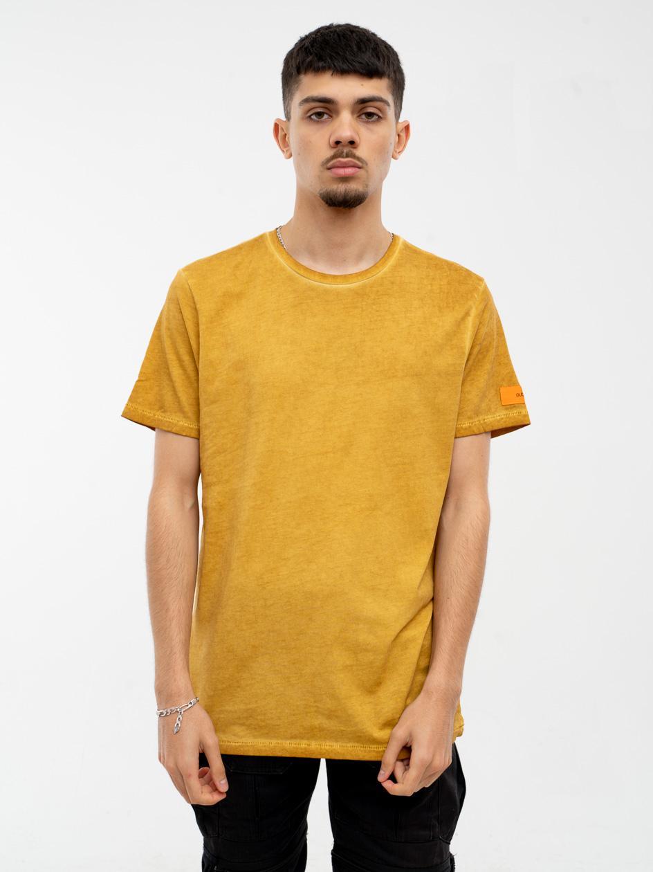 Koszulka Z Krótkim Rękawem Outhorn Badge Żółta