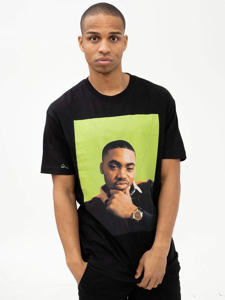 Koszulka Z Krótkim Rękawem Chi Modu Queens Czarna / Zielona