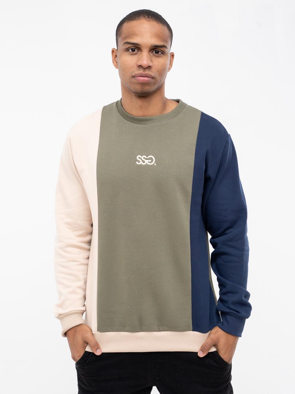 Bluza Bez Kaptura Premium SSG Vertical Colors Khaki