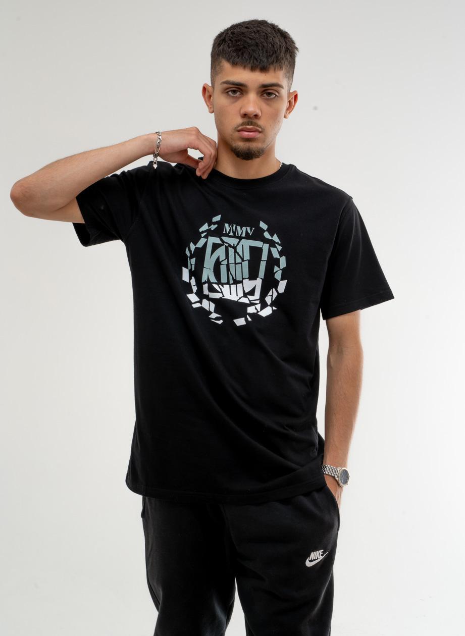 Koszulka Z Krótkim Rękawem DIIL Klasyk Double Czarna