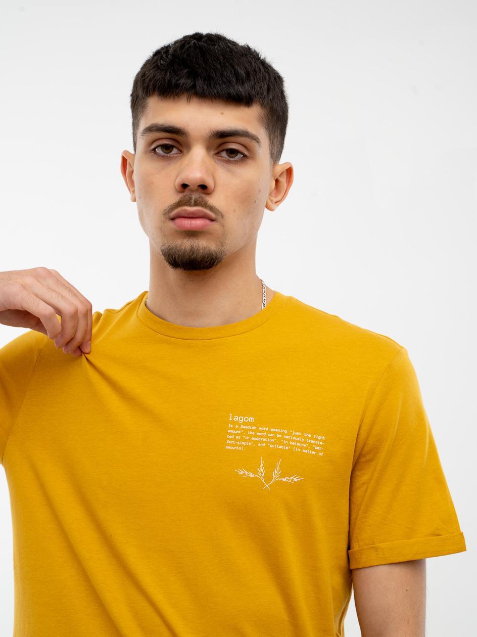 Koszulka Z Krótkim Rękawem Outhorn Lagom Żółta