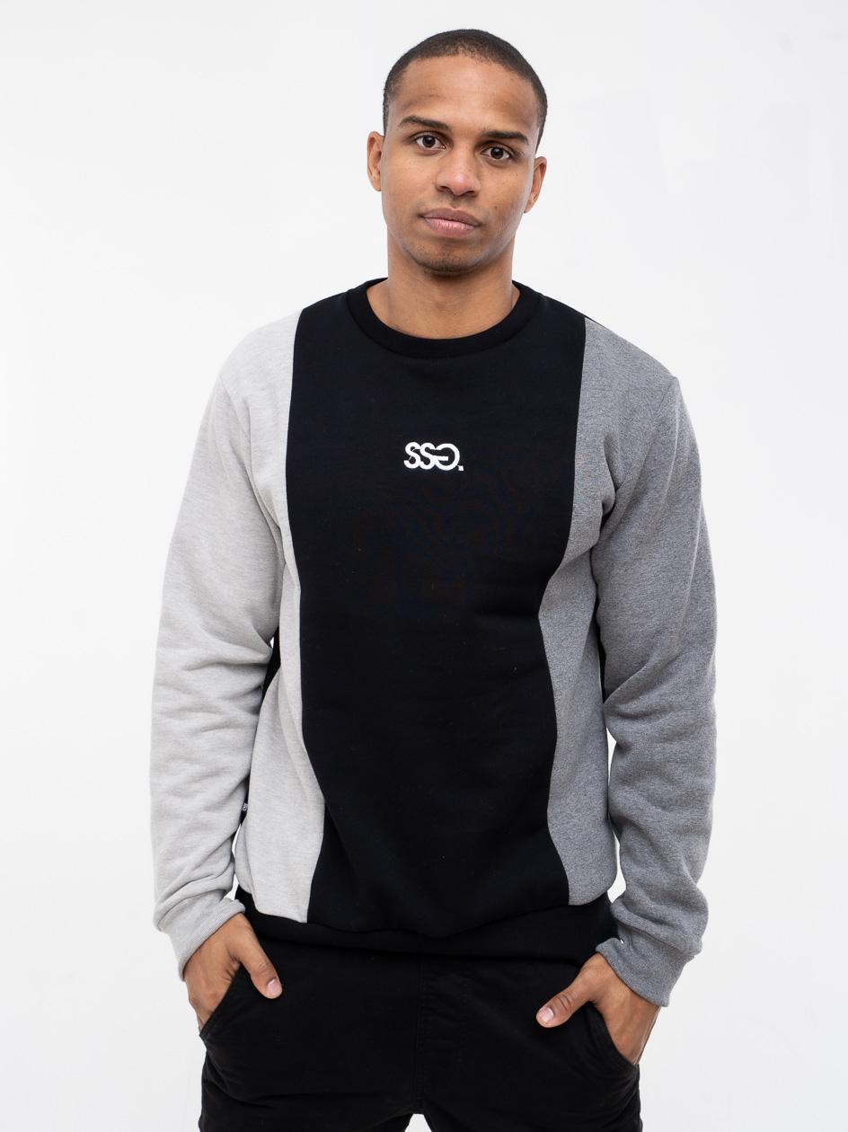 Bluza Bez Kaptura Premium SSG Vertical Colors Czarna