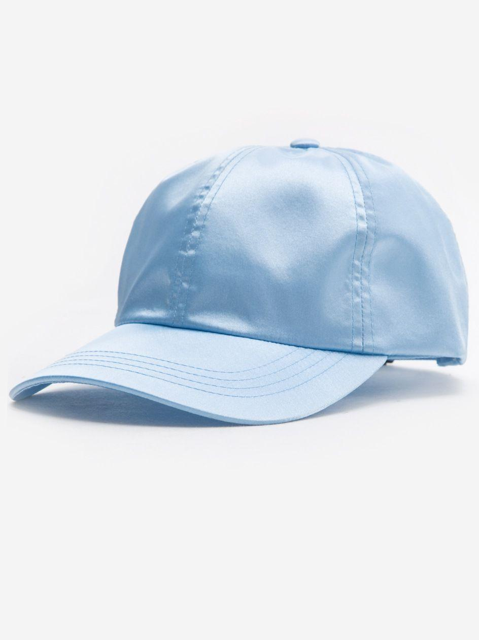 Low Profile Satin Cap Baby Blue
