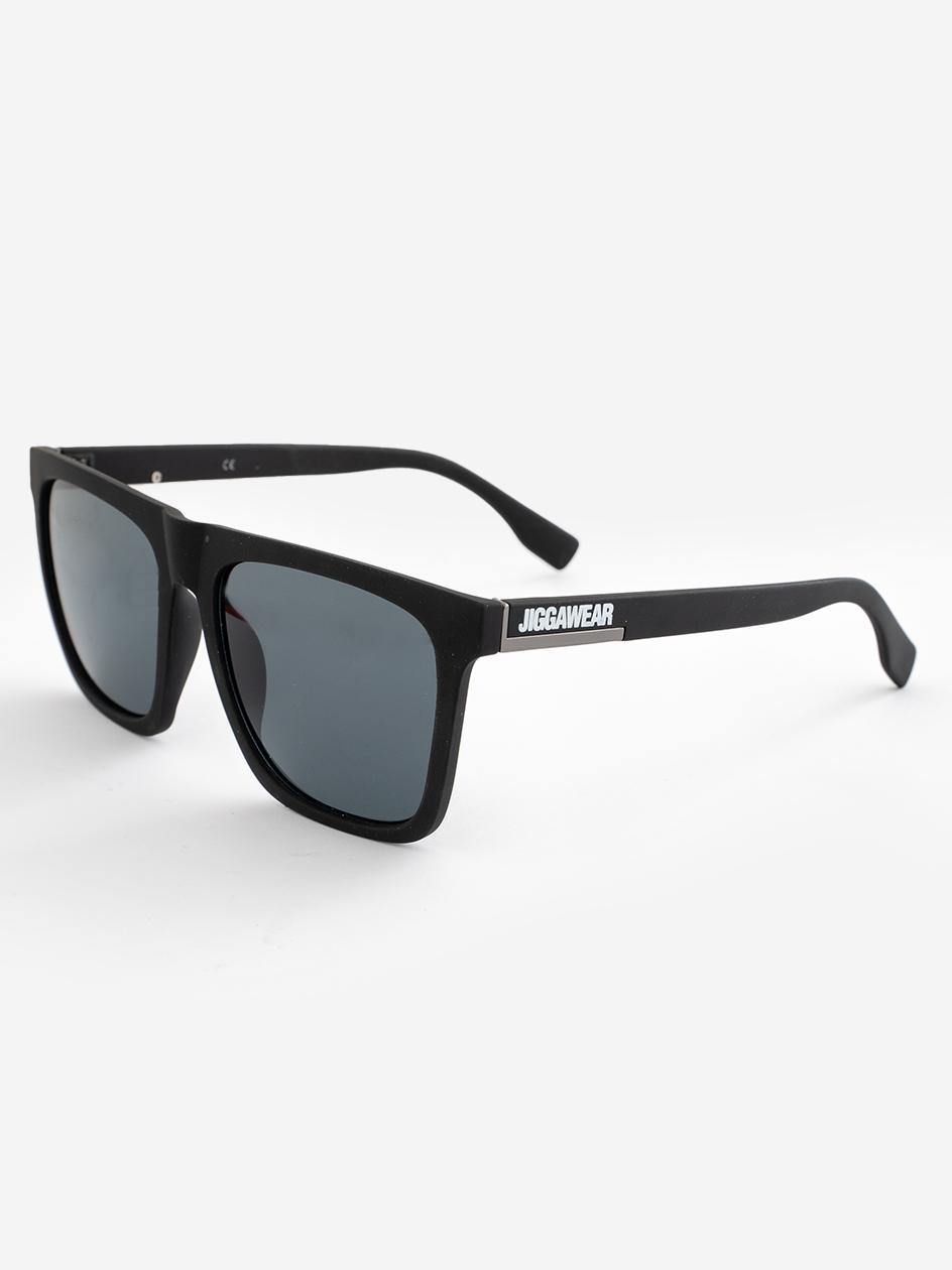 Okulary Przeciwsłoneczne Jigga Wear Square Czarne Matowe