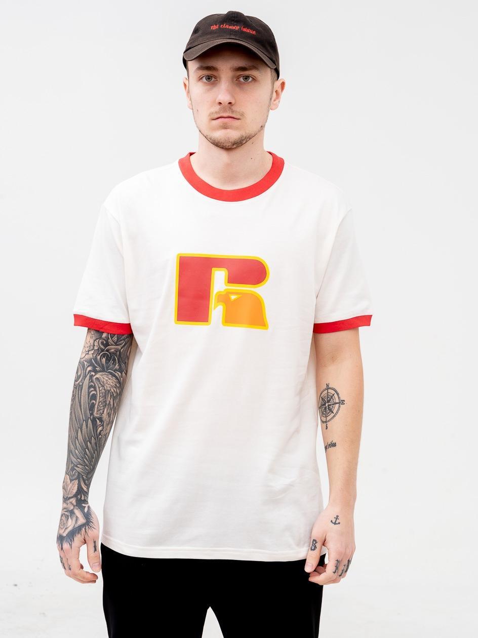 Koszulka Z Krótkim Rękawem Russell Athletic Tom Biała