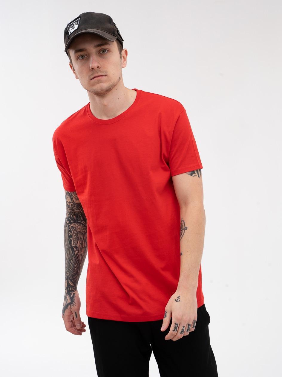 Koszulka Z Krótkim Rękawem Jigga Wear No Logo Czerwona