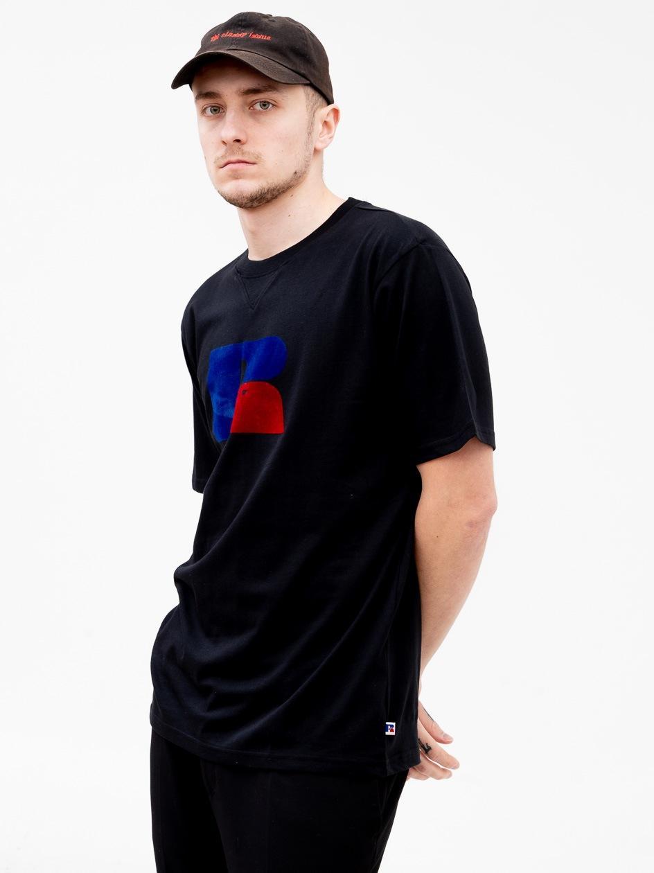 Koszulka Z Krótkim Rękawem Russell Athletic Jerry Czarna