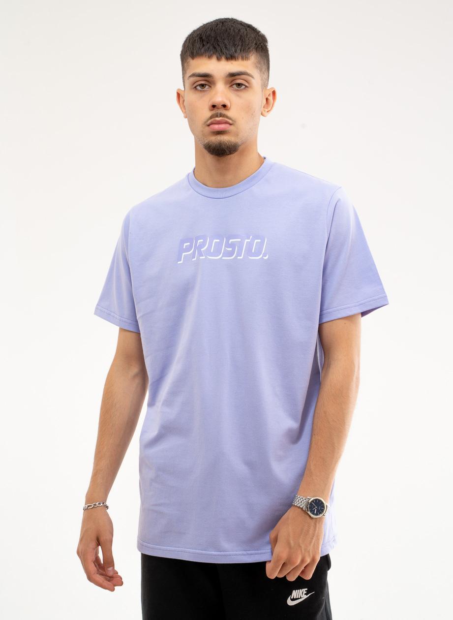 Koszulka Z Krótkim Rękawem Prosto Pastel LTD Jasna Fioletowa