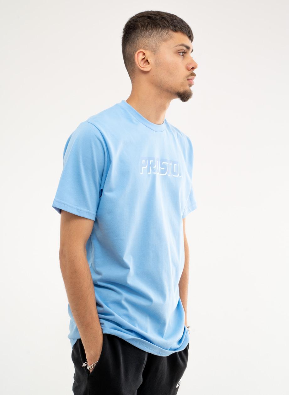 Koszulka Z Krótkim Rękawem Prosto Pastel LTD Jasna Niebieska