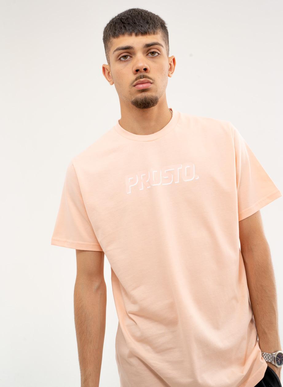 Koszulka Z Krótkim Rękawem Prosto Pastel LTD Różowa