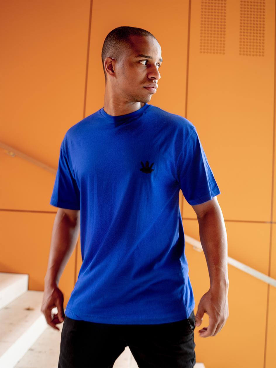 Koszulka Z Krótkim Rękawem Jigga Wear Gum Logo Niebieska