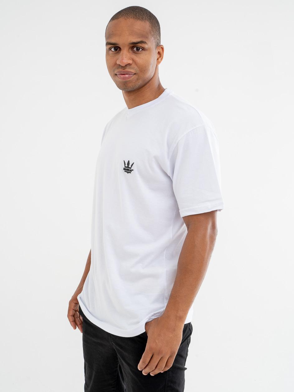 Koszulka Z Krótkim Rękawem Jigga Wear Gum Logo Biała