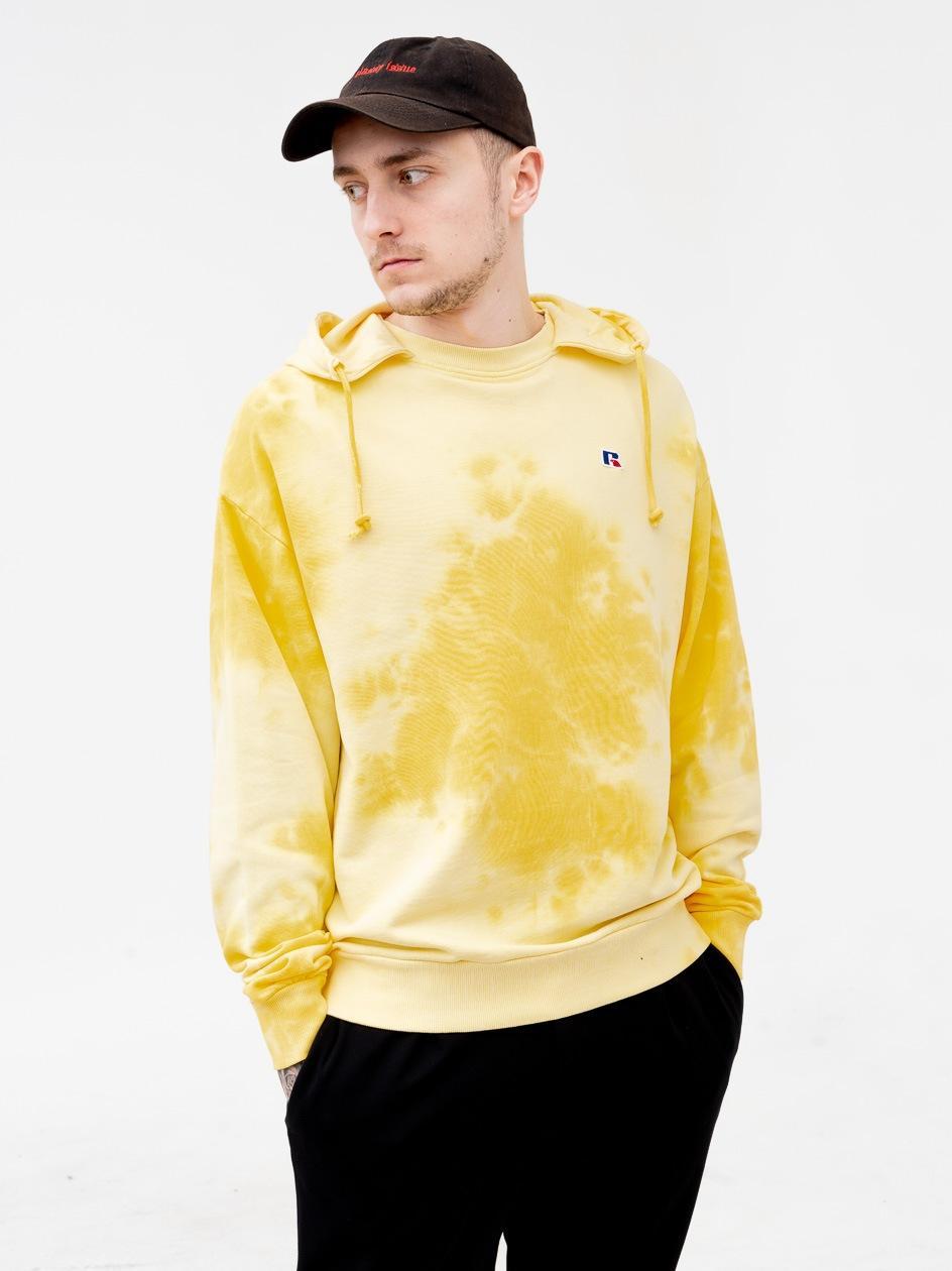 Bluza Z Kapturem Russell Athletic Oscar Żółta