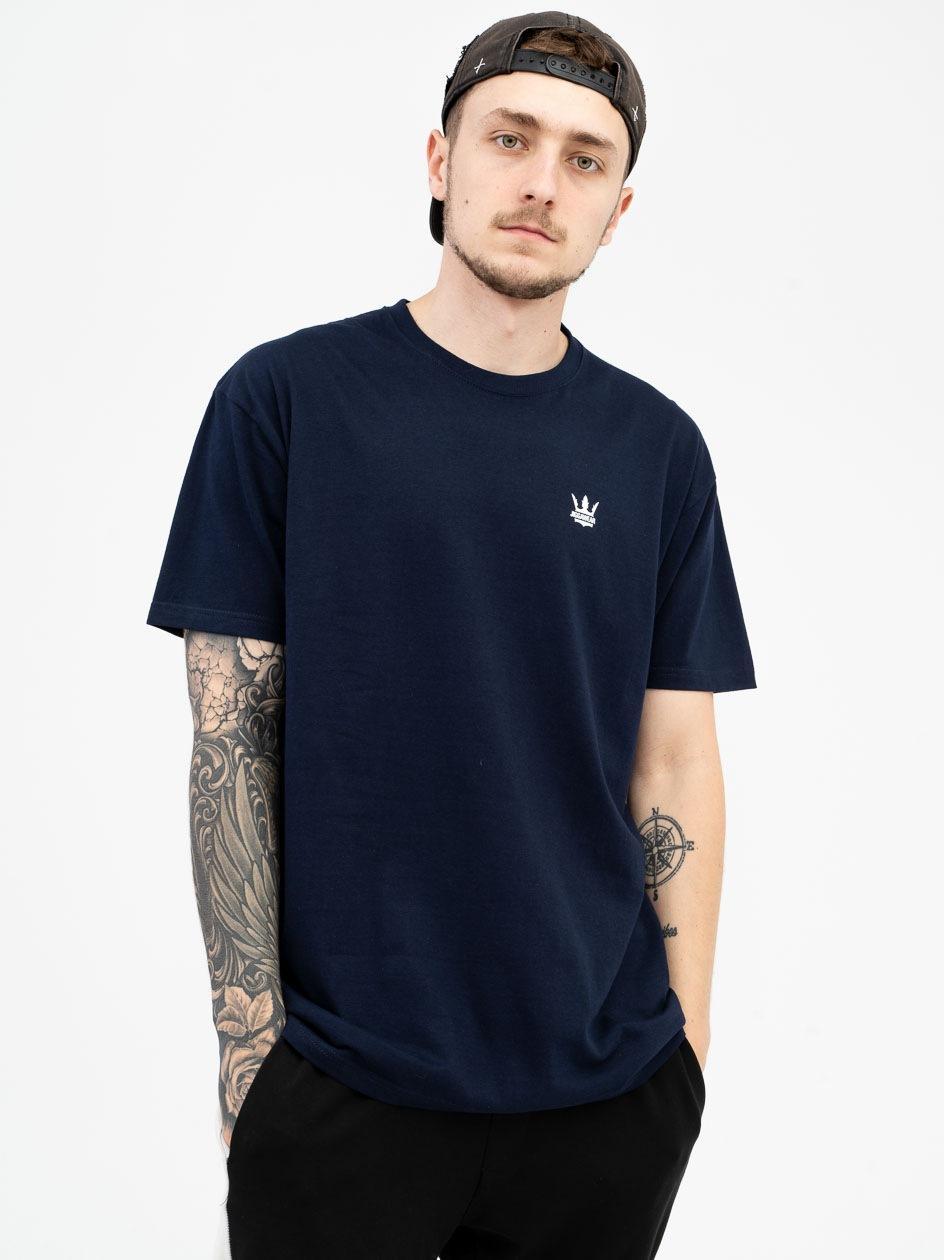 Koszulka Z Krótkim Rękawem Jigga Wear Mini Crown Granatowa