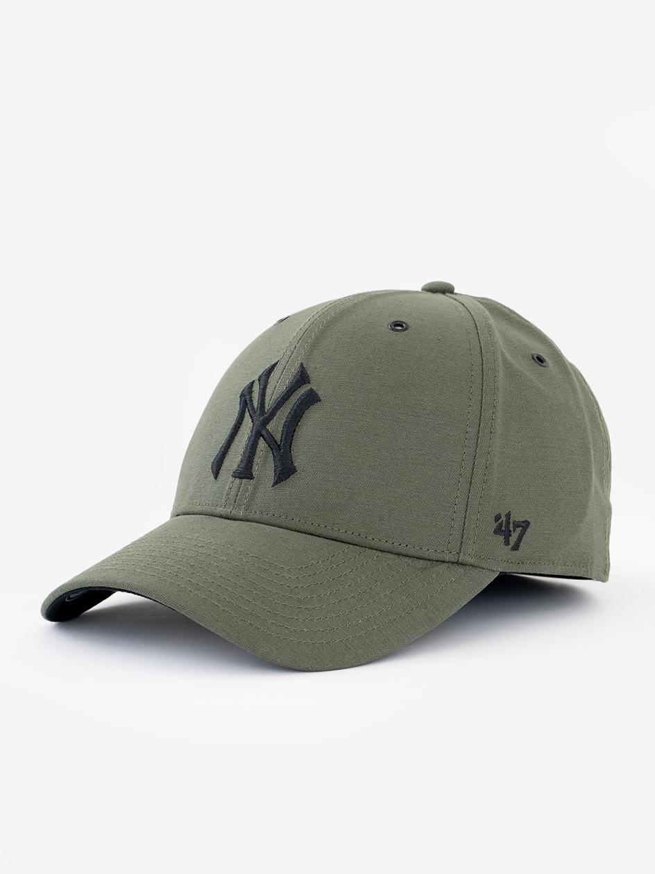 Czapka Z Daszkiem Dad Hat 47 Brand New York Yankees MLB Aerial Oliwkowa / Czarna