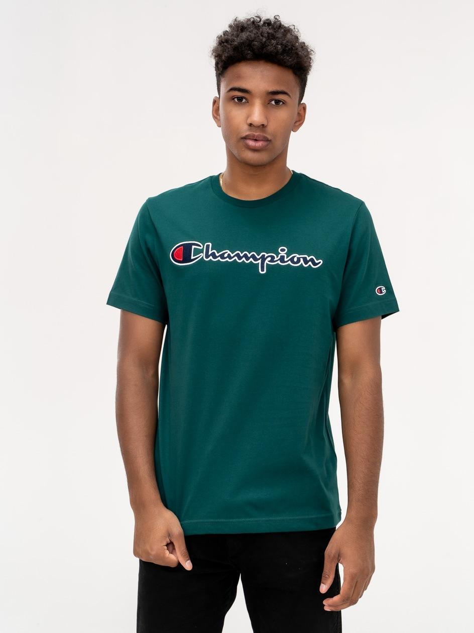 Koszulka Z Krótkim Rękawem Champion Rochester Zielona